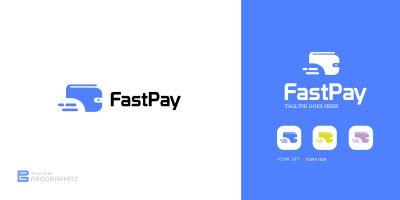 Payment Modern Minimal Logo design