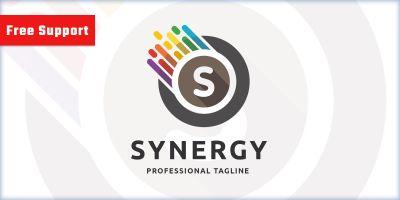 Synergy Letter S Pro Logo