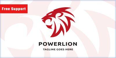 Power Lion Pro Logo