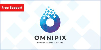 Omnipix Letter O Logo