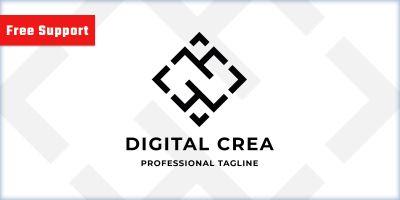 Digital Creative Agency Logo