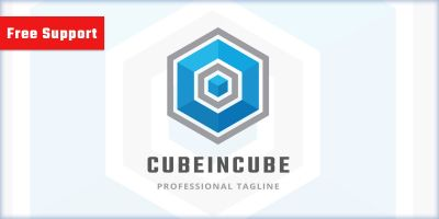 Cube in Cube Pro Logo