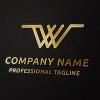 20 Letter W Concept Logo