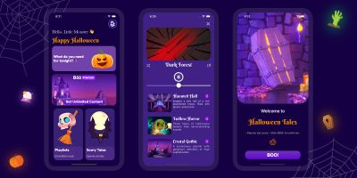 Boo Fun Halloween iOS App Source Code