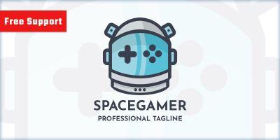 Space Gamer Logo