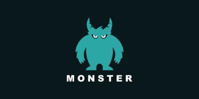 Monster Vector Logo