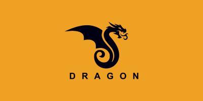 Dragon Vector  Logo Design