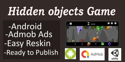Hidden Objects Game Unity Project