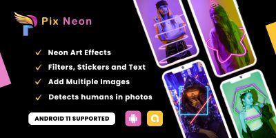 Pix Neon - Photo Editor Android