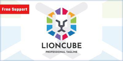 Lion Cube Company Logo