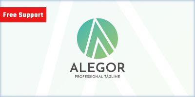 Alegor Letter A Logo