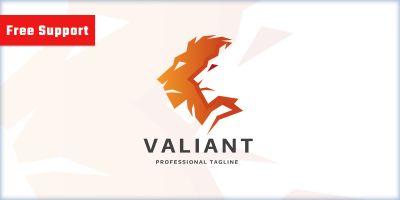 Lion and Lion Valiant Logo
