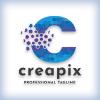 Creative Pixel Letter C Logo