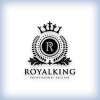 Letter R King Logo