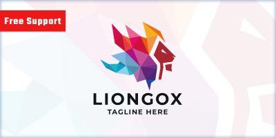 Trial Design Lion Logo