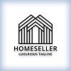 Home Seller - Real Estate Logo