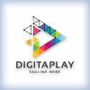 Digital Media Play Logo