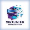 Virtual Human Face Logo