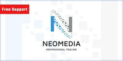 Neo Media Letter N Logo