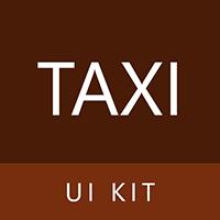 Kwik Taxi UI Kit
