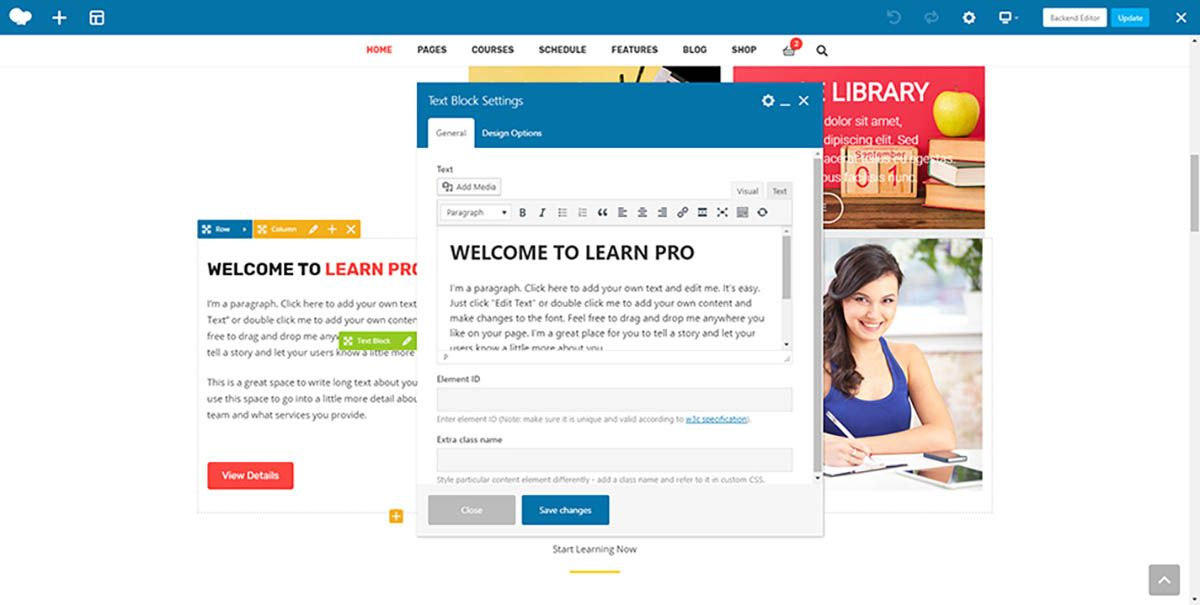 Learnpro - Education WordPress Theme Screenshot 9