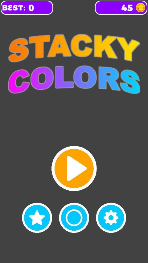 Unity Game Template - Stacky Colors Screenshot 1