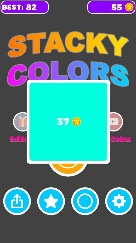 Unity Game Template - Stacky Colors Screenshot 3