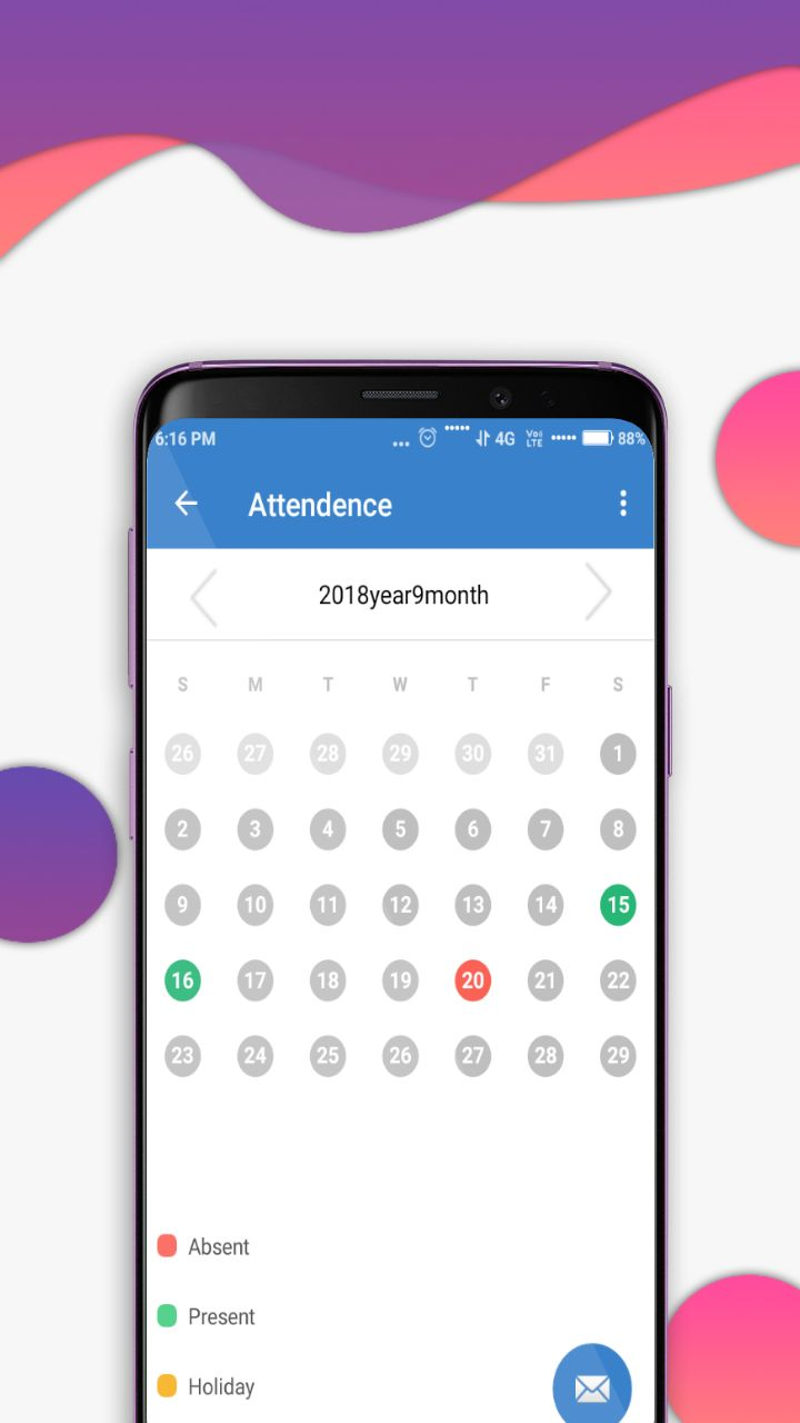 School Management System - Android Source Code Screenshot 8