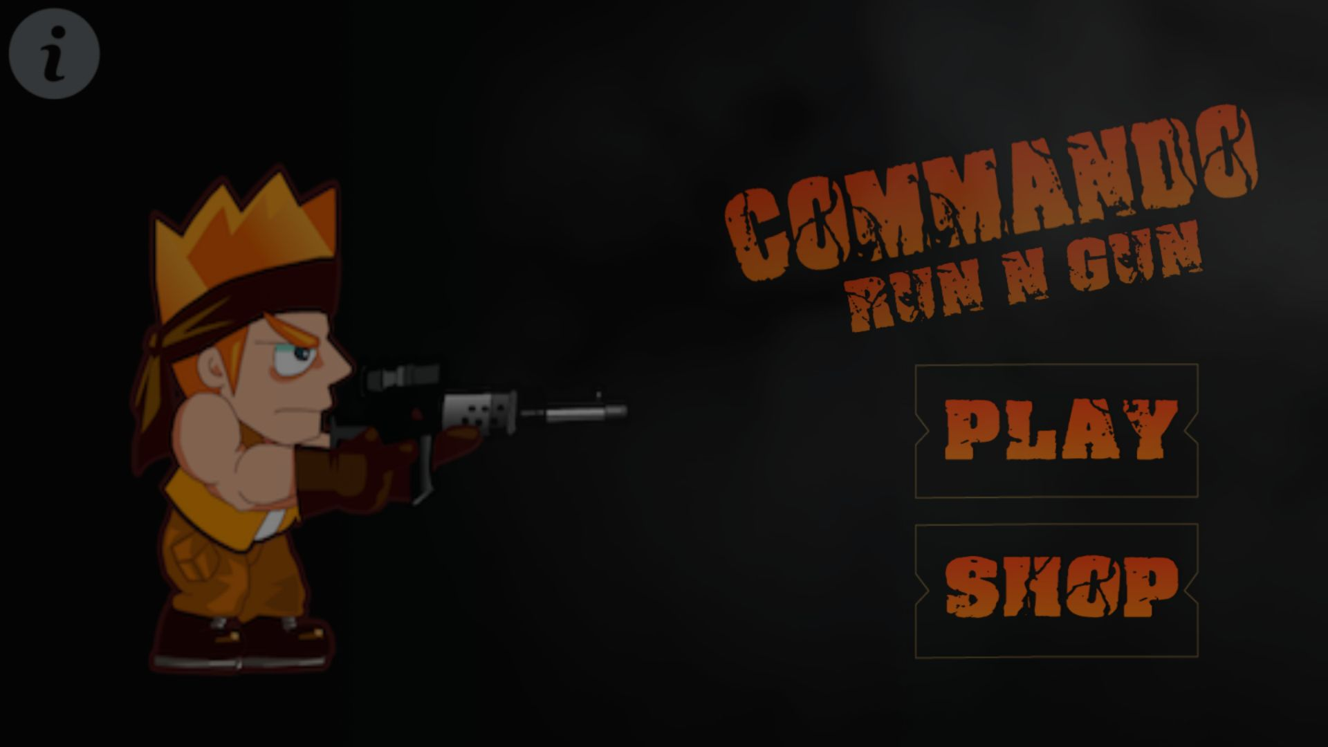 Commando - Buildbox Template Screenshot 4