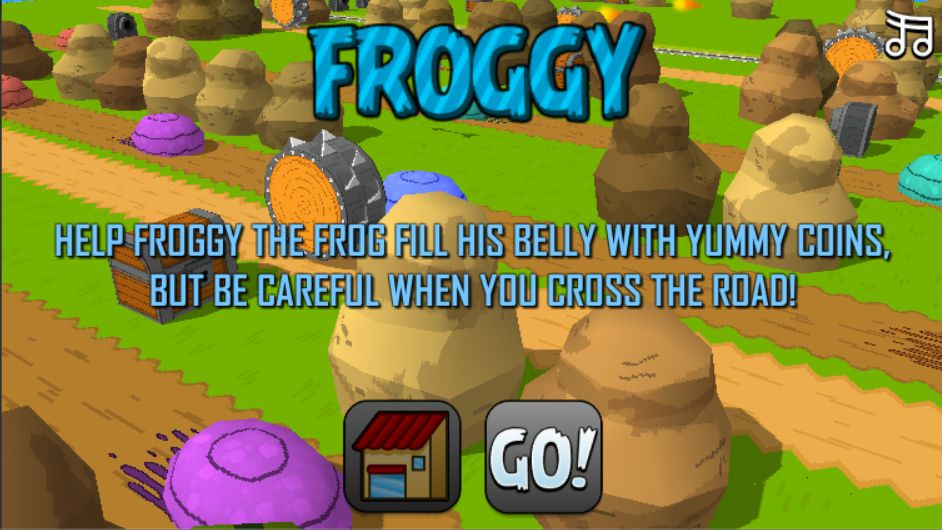 Froggy - Complete Unity Game Template Screenshot 1