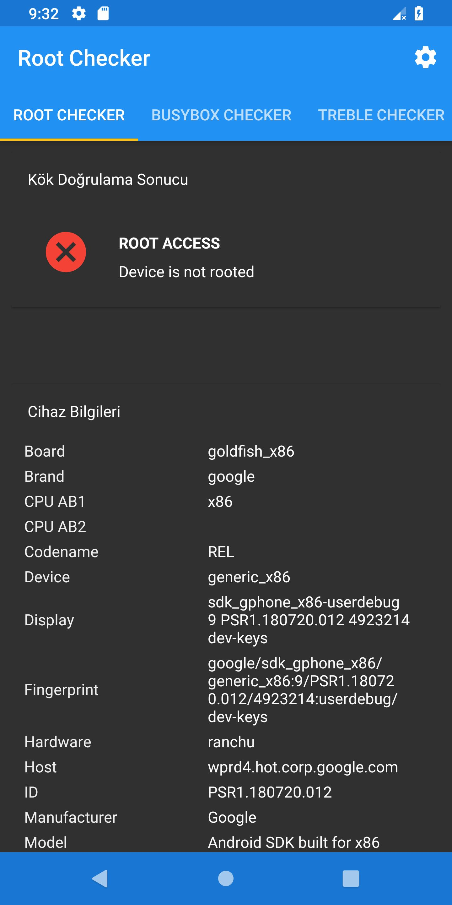 Root Checker - Android Source Code Screenshot 11