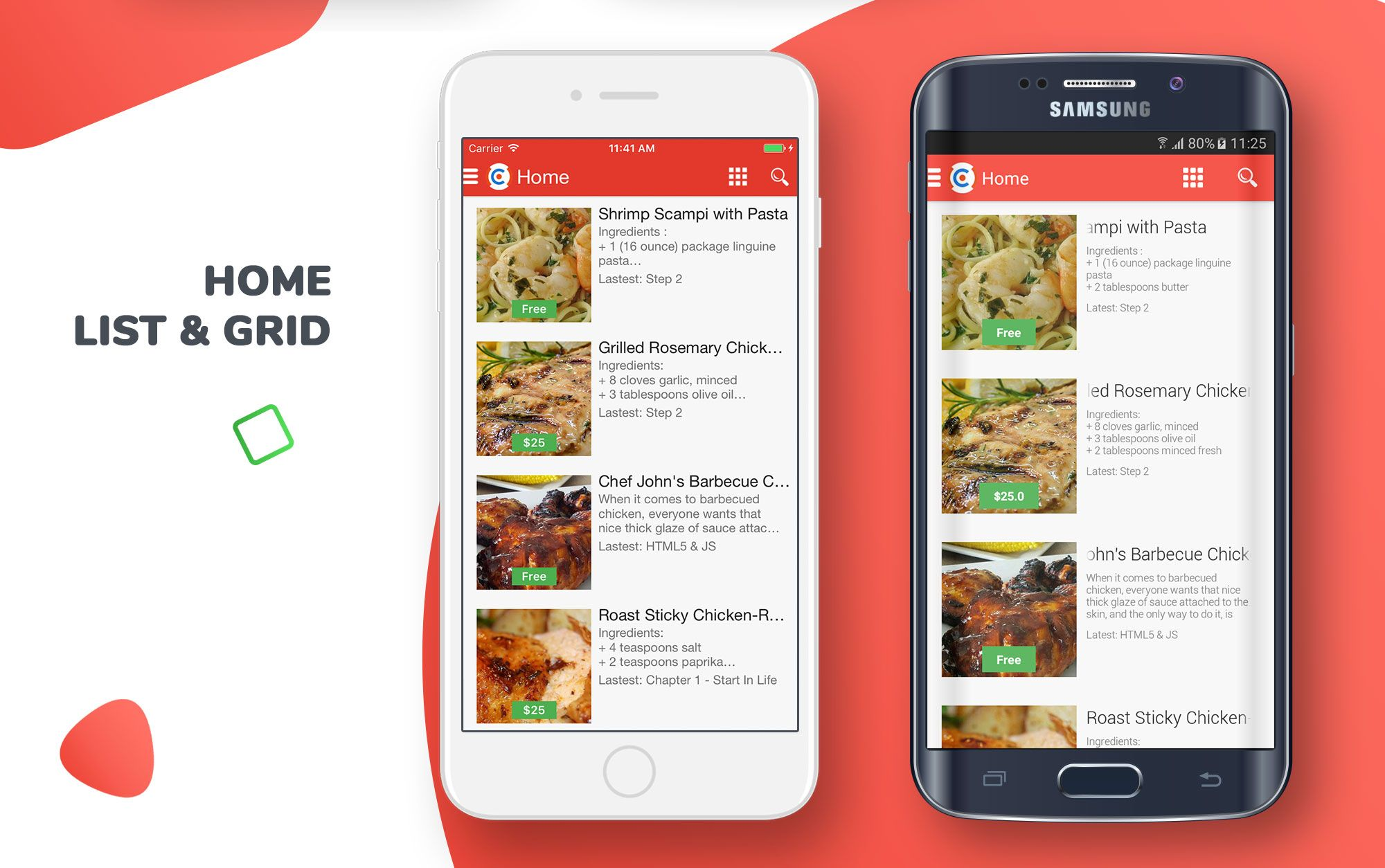 E-Recipes - Sell Your Online Recipes for Android Screenshot 3