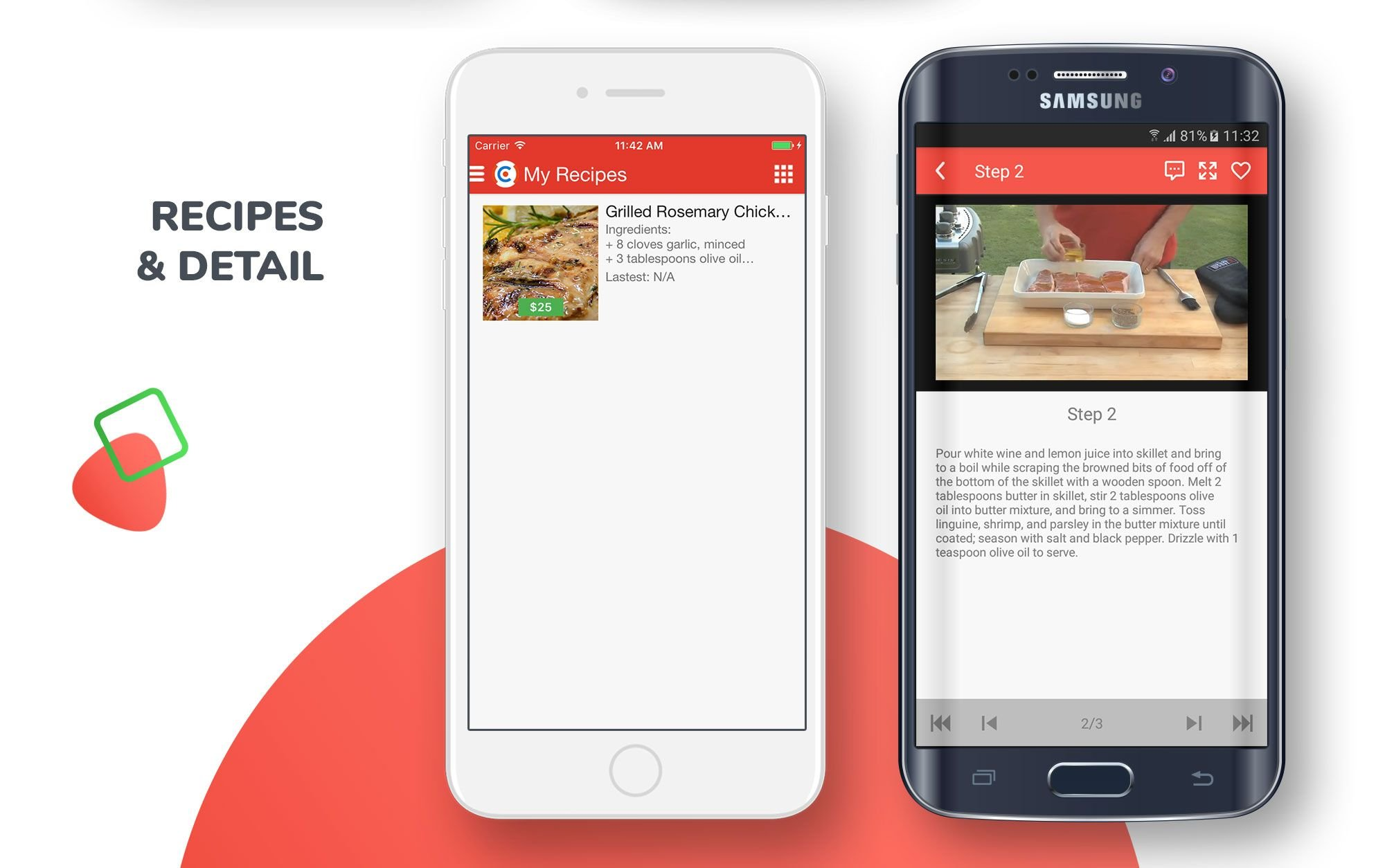 E-Recipes - Sell Your Online Recipes for Android Screenshot 7
