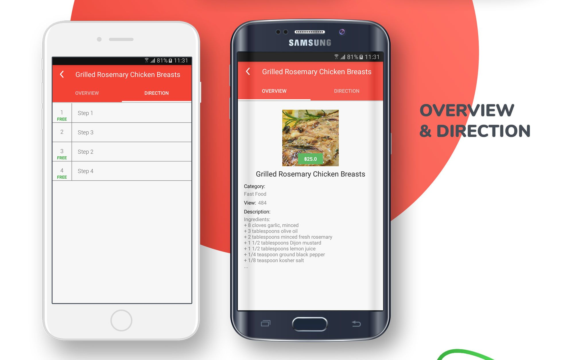 E-Recipes - Sell Your Online Recipes for Android Screenshot 8