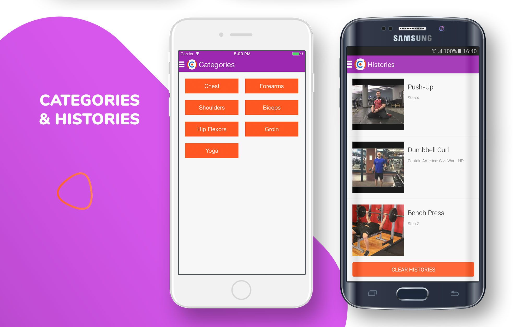 E-Workout - Sell Your Online Workout For Android Screenshot 5