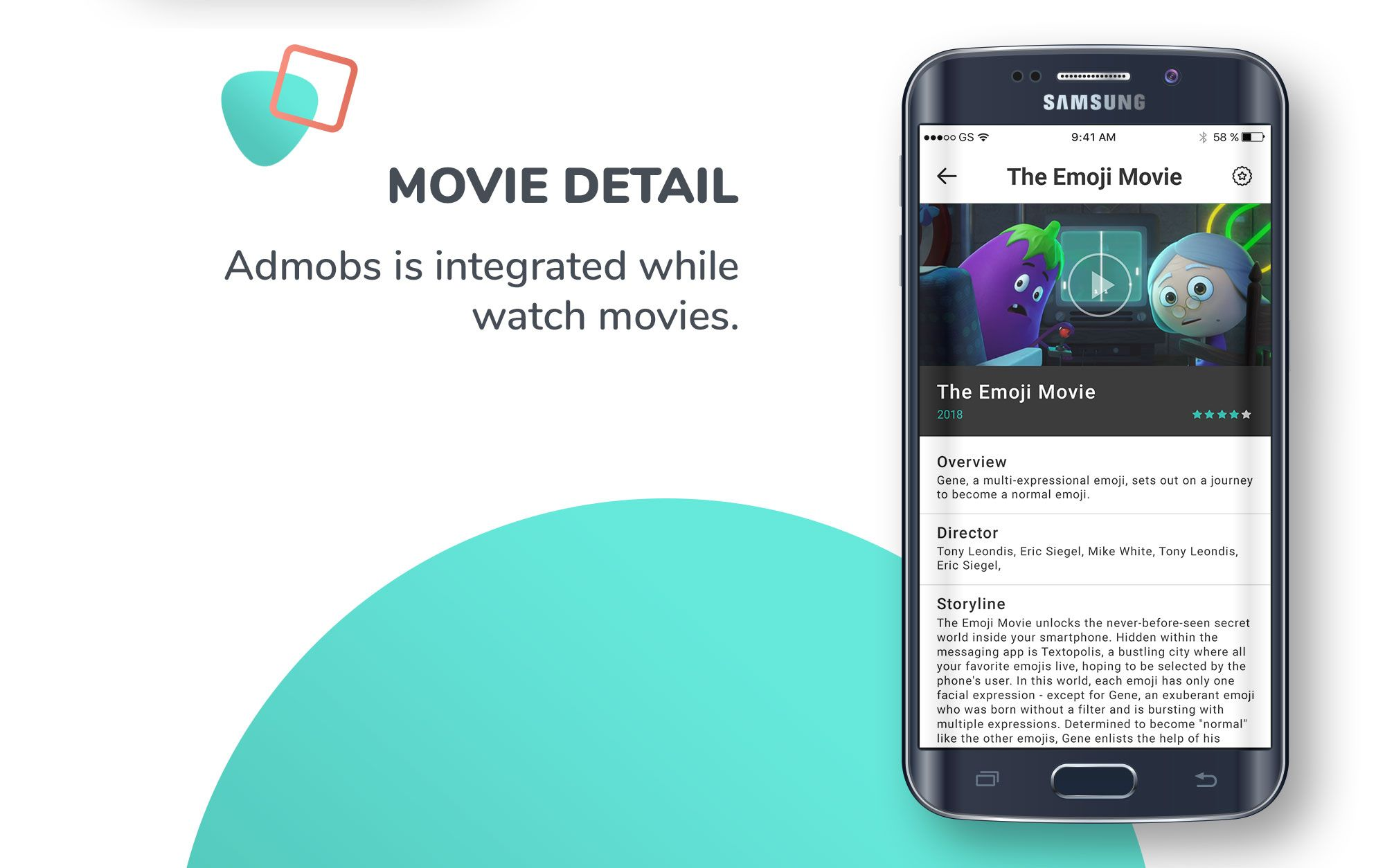 Movie Trailer TMDb Android App Template Screenshot 7