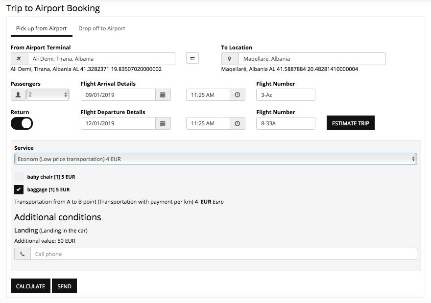 Booking Plugin For WordPress Screenshot 7