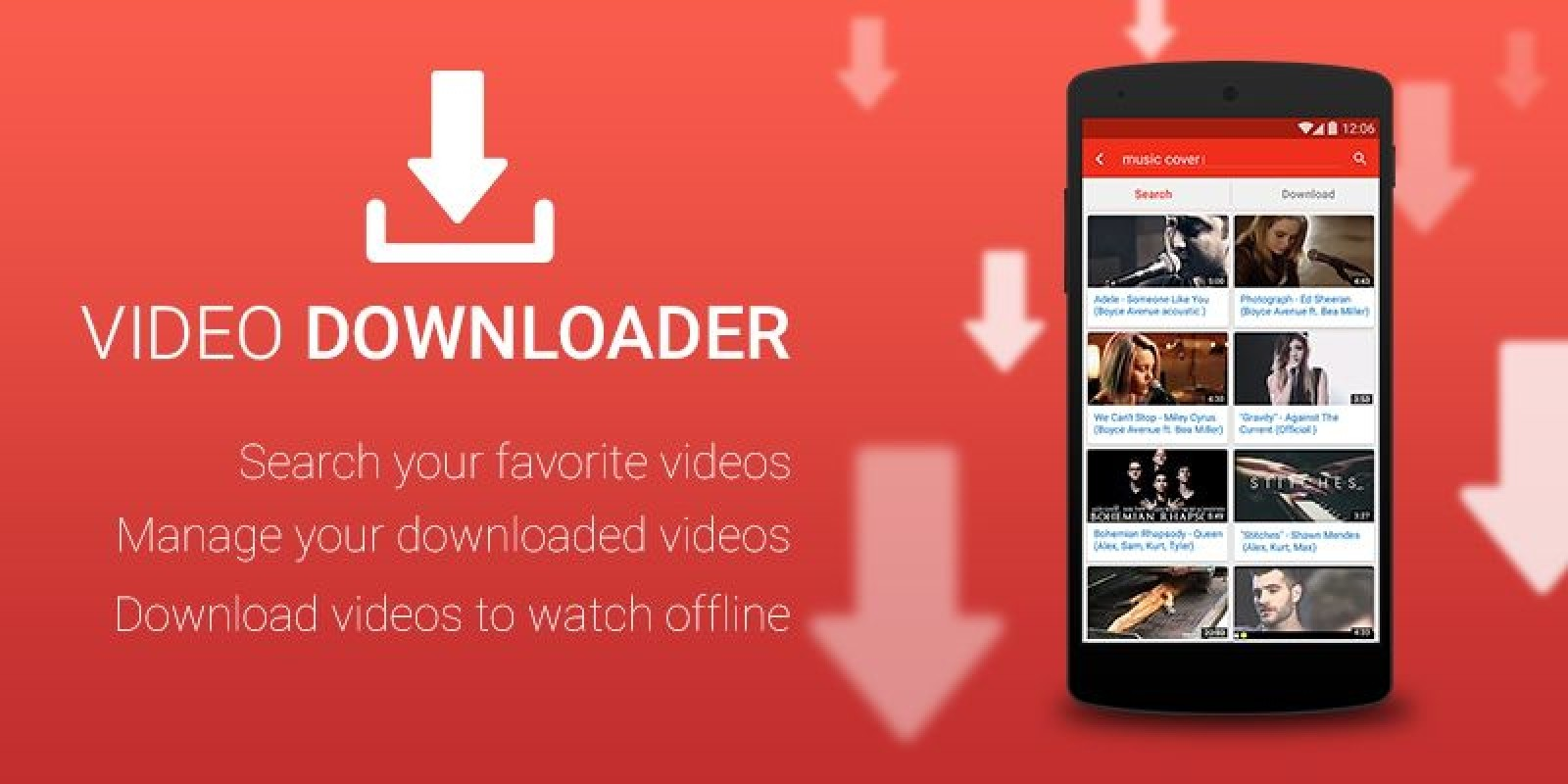 Photo downloader app for android M: Mp3 music downloader - Simple free music
