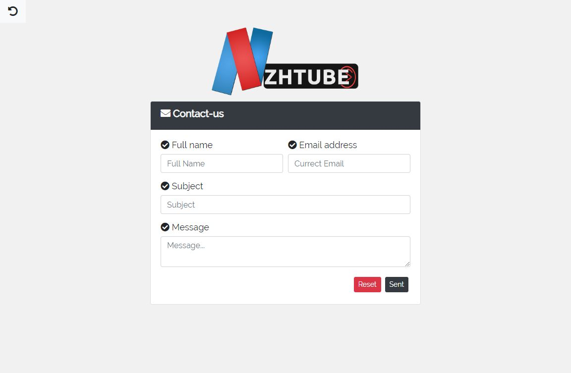 NazihTube Video Sharing Script - Node.js Screenshot 4