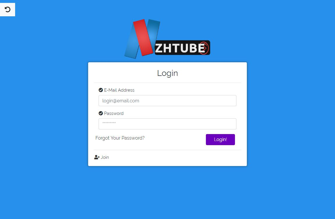 NazihTube Video Sharing Script - Node.js Screenshot 5