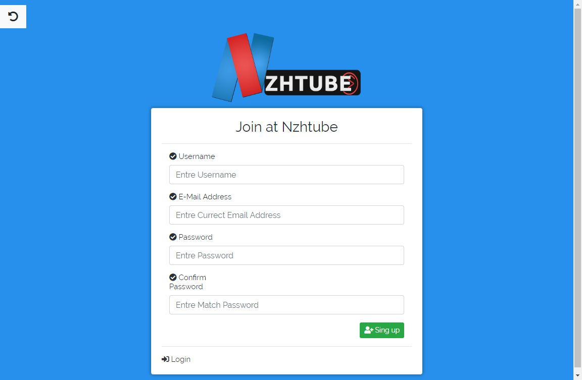 NazihTube Video Sharing Script - Node.js Screenshot 6