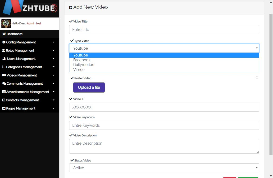 NazihTube Video Sharing Script - Node.js Screenshot 12