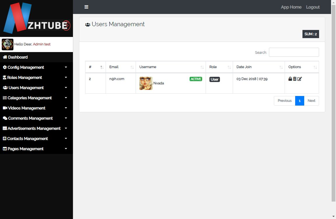 NazihTube Video Sharing Script - Node.js Screenshot 15