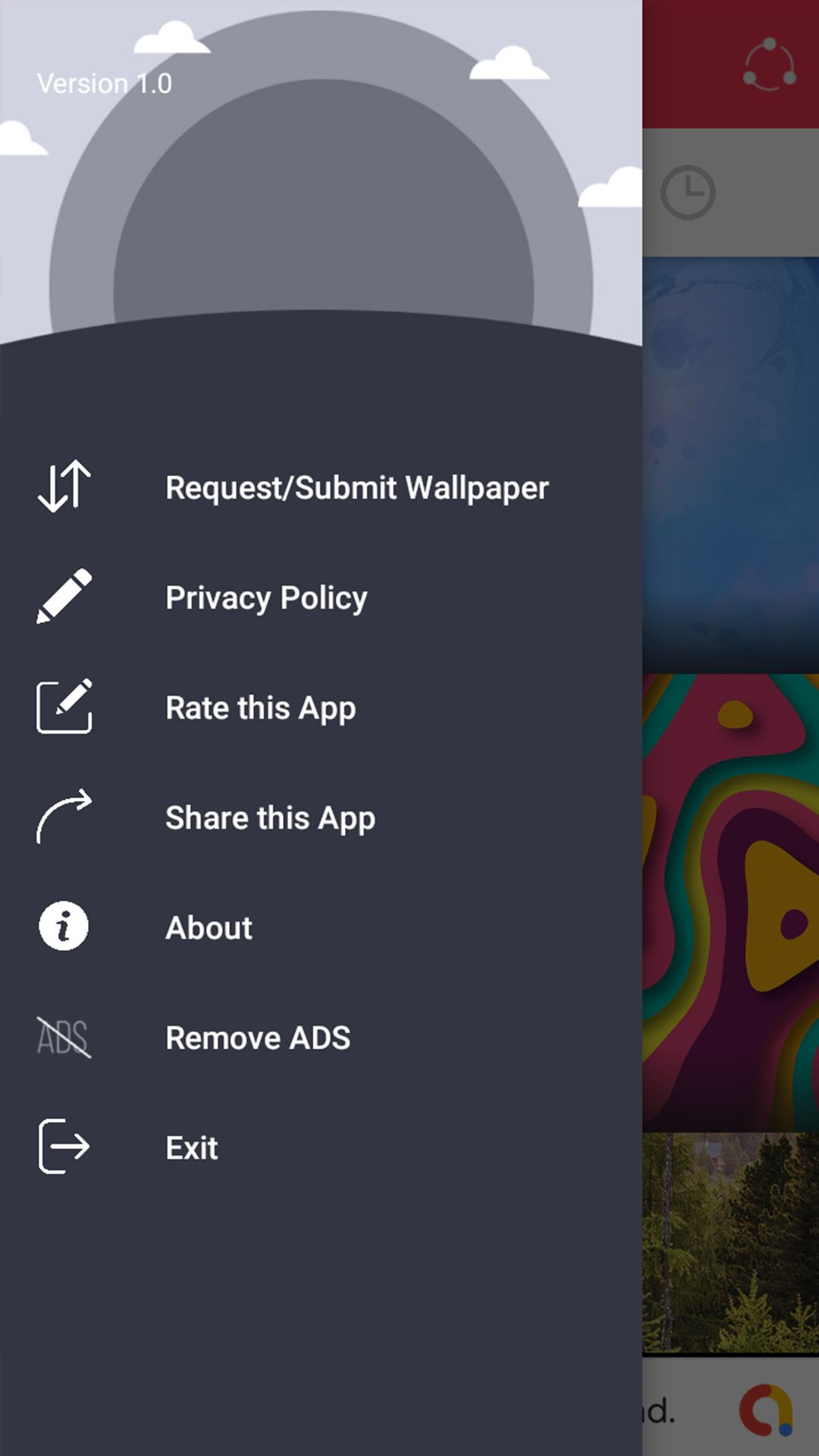 Wallpaper Android App With Firebase Screenshot 4