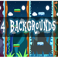 Vertical 2D Backgrounds 1