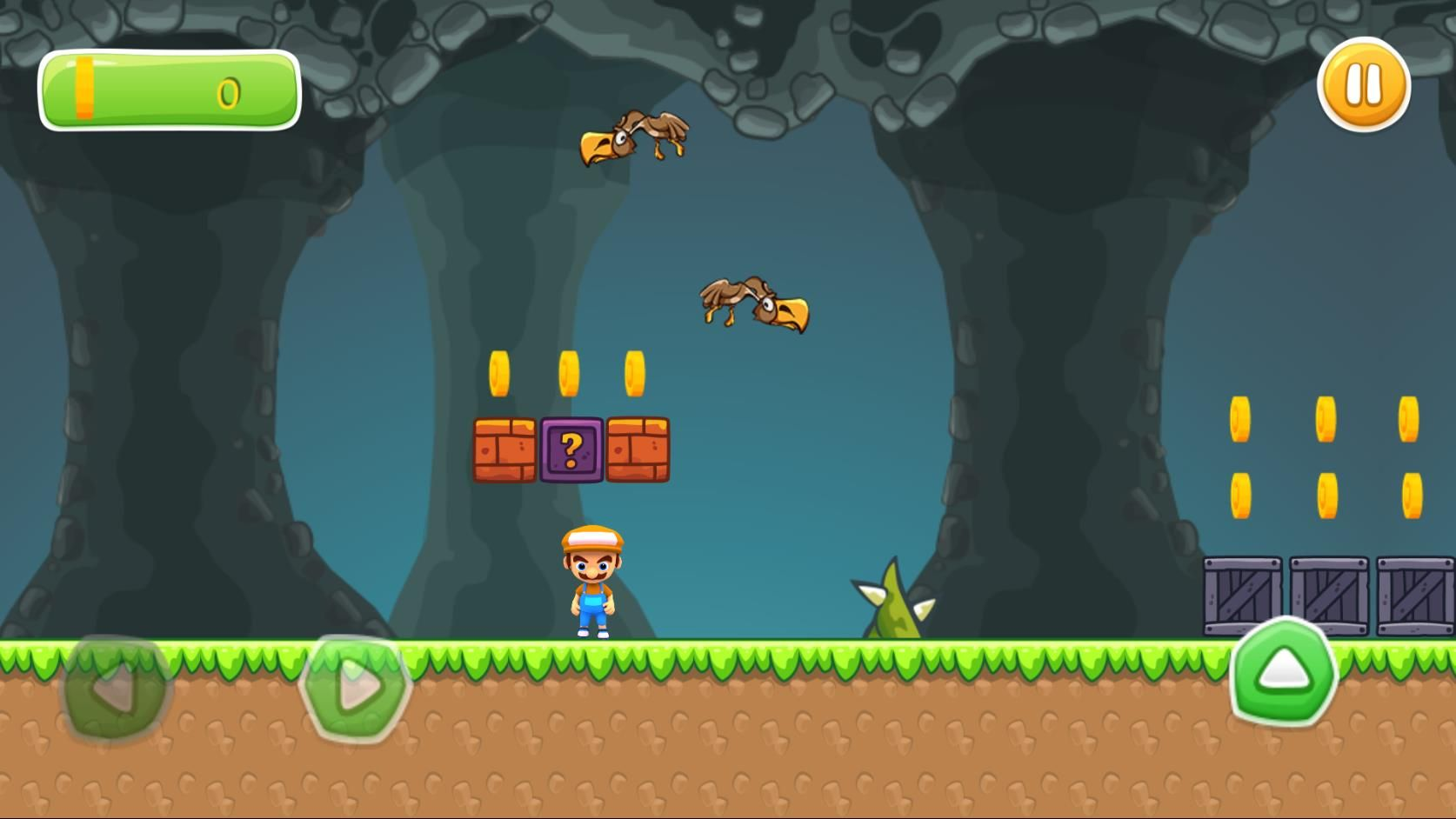 Super Boy Adventure - Buildbox Template  Screenshot 3