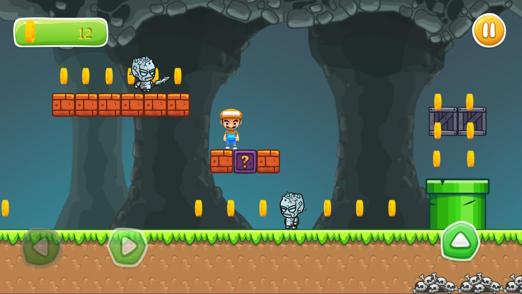 Super Boy Adventure - Buildbox Template  Screenshot 4