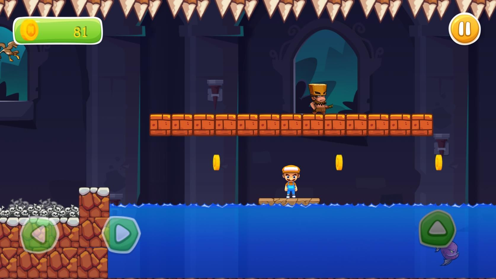 Super Boy Adventure - Buildbox Template  Screenshot 8