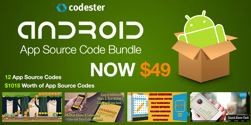 Android App Source Code Bundle