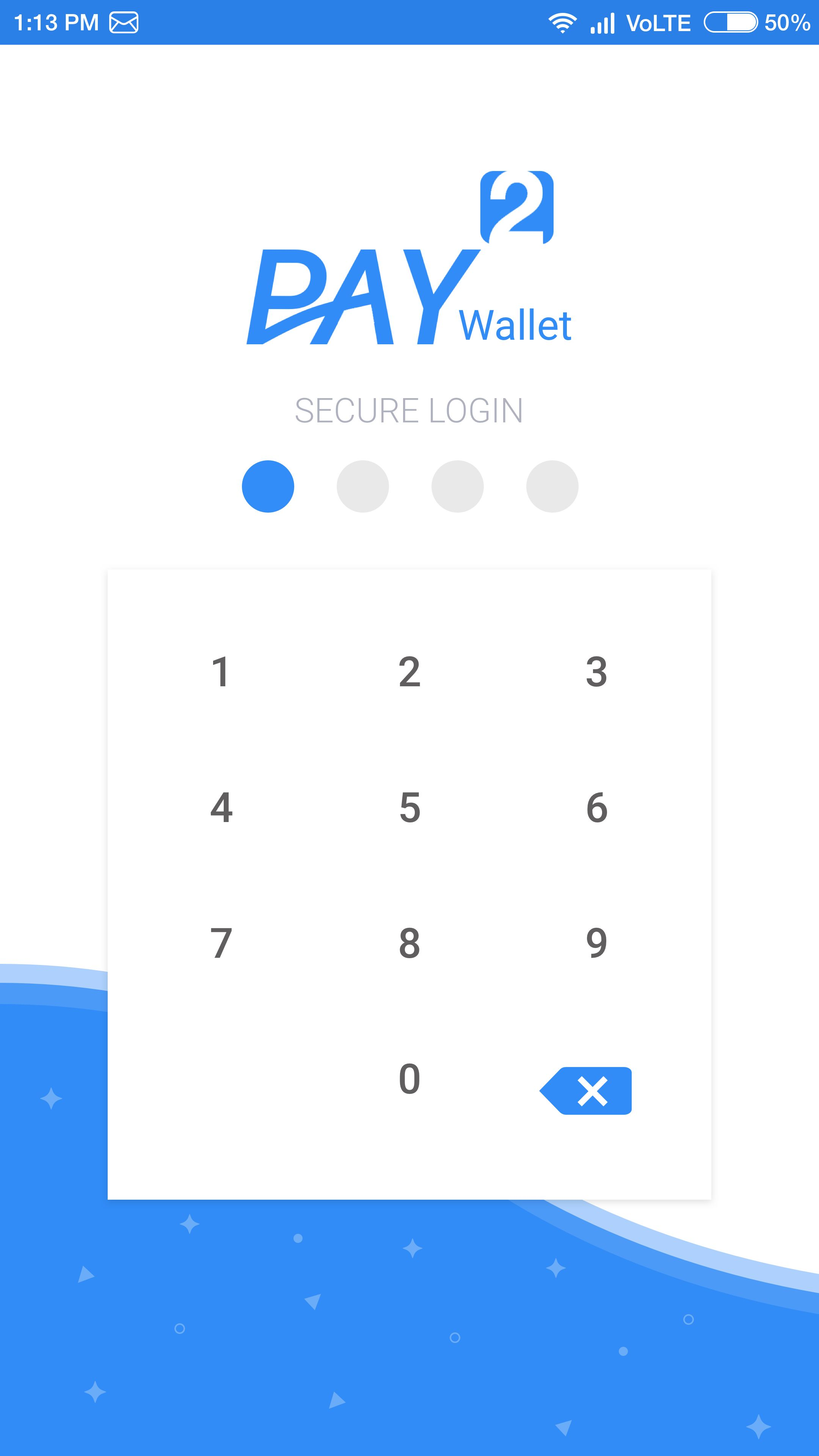 Pay2Wallet - Android Studio UI Kit Screenshot 13